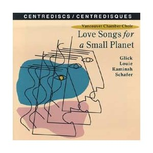 [CD] カナダの作曲家による合唱曲集 - Love Songs for a Small Planet -|giovanni