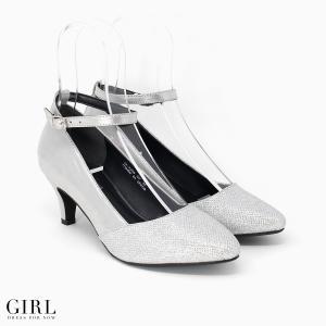 パンプス シューズ レディース 靴 大きいサイズ 結婚式 パーティー 歩きやすい 痛くない ポインテッドトゥ オフィス 謝恩会 卒園式 二次会 入学式 披露宴 卒業式 girl-k