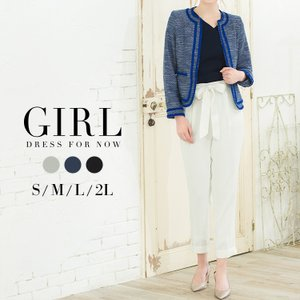 30%OFFクーポン利用で13293円 スーツ レディース 夏 ビジネス フォーマル 大きいサイズ パンツ セット インナー ブラウス オフィス セットアップ ママ 母|girl-k