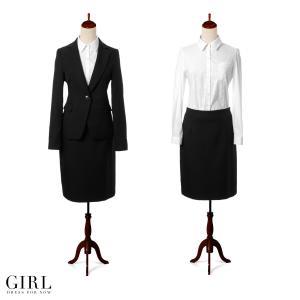 スーツセット スーツ ジャケット リクルート ブラウス スカート タイト 袖付き 長袖 七五三|girl-k