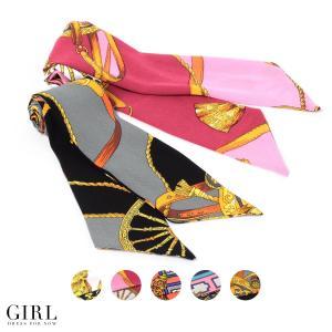 タイ ヘアバンド スカーフ スカーフ ヘアアクセサリー ブレスレット ネックレス ベルト バッグアクセサリー 薄手 柄 細め 母の日 ギフト|girl-k
