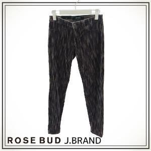 ROSE BUD J.BRAND ローズバッド ジェイブランド  RAINSHADOW PRINT VELVETEEN M/R SKN 120262|girlsgirl