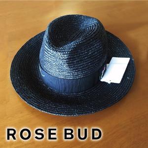 ROSE BUD/FERRUCCIO VECCHI ローズバッド/フェリシオベッキ フラワー刺繍ストローハット 163432|girlsgirl