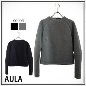AULA アウラ  ウレタンボンディングトップス 3143-04037|girlsgirl