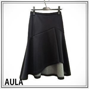AULA アウラ  ウレタンボンディングスカート 3143-07038|girlsgirl