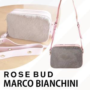 ROSE BUD MARCO BIANCHINI ローズバッド マルコビアンキーニ レザースクエアショルダーバッグ 601-7261077|girlsgirl