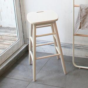 ハイ スツール チェア 椅子 いす ホワイト プチファニチャーシリーズ ハイスツール|girlyapartment