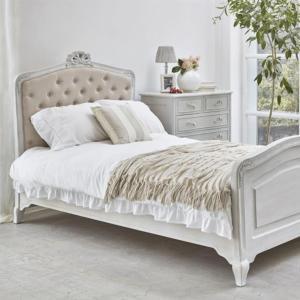 ベット ベッド ホワイト 姫 白 セミダブル ベッド ハンプトンスタイル / まとめ買い|girlyapartment