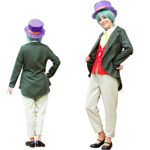 セット内容:ハット・シャツ一体型ジャケット・チョーカー・パンツ※傘は含まれません サイズ:レディース...