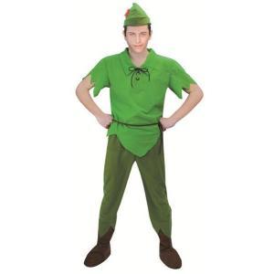 ハロウィン コスプレ ディズニー メンズ コスチューム ピーターパン peterpan キャラクター 仮装 衣装 ハロウィーン パーティーグッズ|gita