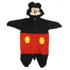 ハロウィン コスプレ 子供 ディズニー ミッキー ミッキーマウス 着ぐるみ 着ぐるみパジャマ フリー...
