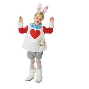 Disney♪キャラクターハロウィン子供コスチューム不思議の国のアリススノーラビットハロウイン・コス...