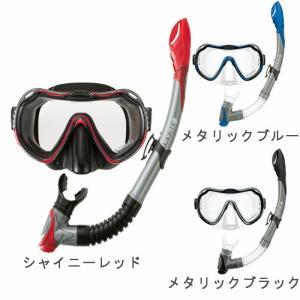 シュノーケル セット 大人 シュノーケルセット シリコン スノーケル マスク セット フルサイズ スイムセット イカリ IKARI SM102Q シリコンセット