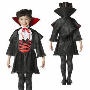ハロウィン コスプレ キッズ 女の子 衣装 子供 コスチューム 吸血鬼 バンパイア 120cm/140cm ラブリーヴァンパイア悪魔 スカート 子供 仮装 変装 結婚式 ハロウ|gita