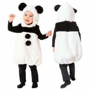 ハロウィン コスプレ ベビー 衣装 マシュマロパンダ 赤ちゃん 女の子 男の子 ふわもこ素材 着ぐるみ ワンピースタイプ パンダ コスチューム インスタ映え 仮装|gita