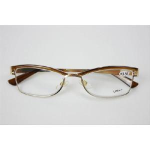 老眼鏡 シニアグラス M025S メタルフレーム 単焦点レンズ1-3.5