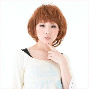 ふわカワエアリーショート フルウィッグAL-10 モテ髪・大人用・耐熱カラー コテ・アイロン使用可1...