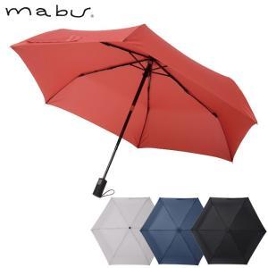 傘 レディース 自動開閉 折りたたみ 折りたたみ傘 6本骨 晴雨兼用 日傘 mabu EASY ONE 全4色 直径94cm|gita
