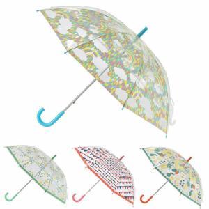 透明ビニール傘子ども用キッズ53.5cmHHLG60雨傘ママ達の意見をもとにした子どもも自分も持ちた...