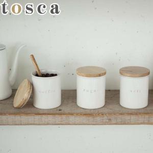 キャニスター おしゃれ 陶器 調味料 保存容器 調味料入れ ストッカー シンプル 北欧 小物入れ インテリア 見せる収納 ソルト コーヒー シュガー|gita
