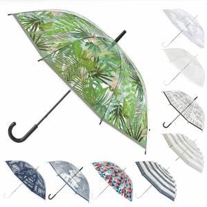 透明ビニール傘レディース58.5cmHHLG50おしゃれ雨傘雨の日が待ち遠しくなる、年中必需品の透明...