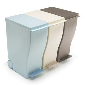 ゴミ箱 おしゃれ ふた付き 岩谷マテリアル ダストボックス kcud RusticColor スリムペダルペール 30L ごみ箱 キッチン リビング お部屋に