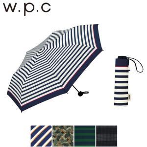 傘 メンズ/レディース 折りたたみ 大きい 58cm 雨傘 w.p.c 折りたたみ傘 ベーシック 全...