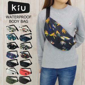 KiU/キウ レインバッグ 防水 バッグ ウォータープルーフ ボディバッグ メンズ/レディース 全9色 K84 自転車 ウエストポーチ 斜め掛け 撥水 フェス おしゃれ|gita