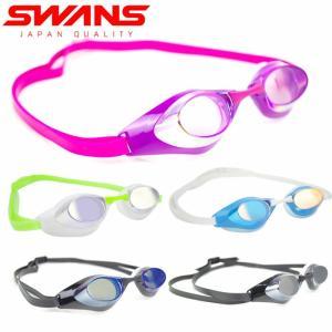 ゴーグル 水泳 大人 SWANS スワンズ SR71M スイミング 競泳 ジム メンズ レディース ...
