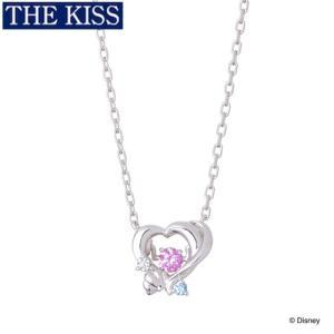 ディズニー プリンセス アリエル ネックレス Disney THE KISS ザキッス ザキス シル...