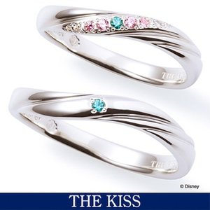 ペアリング ディズニー アリエル  指輪 THE KISS ペアアクセサリー リトルマーメイド ディ...