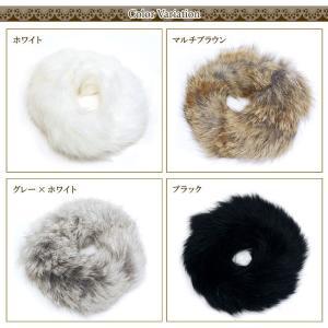 この冬の最強マストアイテム ラビットファーシュシュ|giyaman-jewellery|05