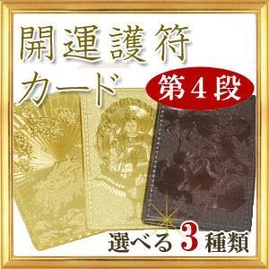 第4段◆全3種類 開運祈願 開運カード 四神相応 富士山 孔雀明王 護符|giyaman-jewellery