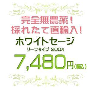 無農薬 高品質 カリフォルニア産 ホワイトセージ リーフ 200g 枝なし|giyaman-jewellery|02