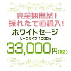 無農薬 高品質 カリフォルニア産 ホワイトセージ リーフ 1000g 枝なし|giyaman-jewellery|02