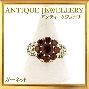 碌山 天然石 ガーネット リング|giyaman-jewellery