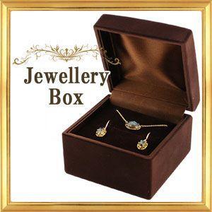 ジュエリーケース  イヤリング ピアス ペンダント用 箱のみの販売 フロッキングタイプ|giyaman-jewellery