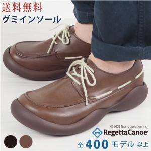 リゲッタ カヌー メンズ 靴 モカシン デッキシューズ レースアップ moccasin shoes|gjweb
