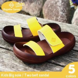 リゲッタ カヌー サンダル キッズ 18 16 17 履きやすい ベルト ベルクロ sandal|gjweb