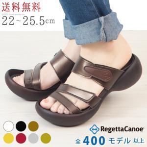 リゲッタ カヌー サンダル レディース 履きやすい 厚底 エッグヒール ベルトサンダル 単色 sandal|gjweb