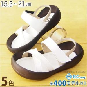 リゲッタカヌー サンダル キッズ 18 16 17 履きやすい ストラップ クロス ベルト sandal|gjweb