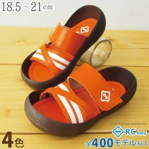 リゲッタカヌー サンダル キッズ 履きやすい クロス ベルト ボーダー sandal|gjweb