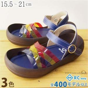 リゲッタカヌー サンダル キッズ 18 16 17 履きやすい ストラップ クリア sandal|gjweb