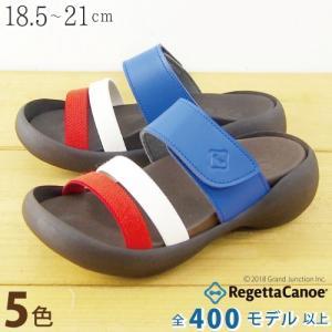 リゲッタカヌー サンダル キッズ 履きやすい トリコ ベルト ベルクロ sandal|gjweb
