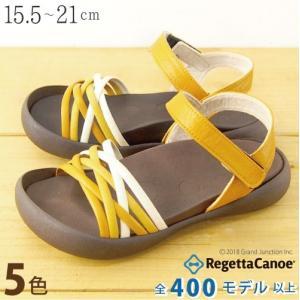 リゲッタカヌー サンダル キッズ 18 16 17 履きやすい 編み込み ストラップ sandal|gjweb