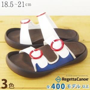 リゲッタカヌー サンダル キッズ 18 16 17 疲れにくい つっかけ ベルト バックル sandal|gjweb