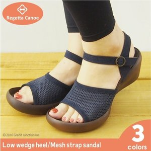 リゲッタカヌー サンダル レディース ウェッジソール メッシュ sandal|gjweb