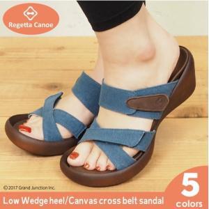 リゲッタ カヌー サンダル レディース ウェッジ ソール sandal wedge|gjweb