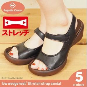 リゲッタ カヌー サンダル レディース ウェッジ 5cm ヒール sandal|gjweb