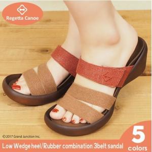 リゲッタ カヌー サンダル レディース 履きやすい ウェッジ ウェッジソール sandal|gjweb